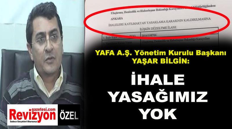 YAFA, BELGEYLE YALANLADI!