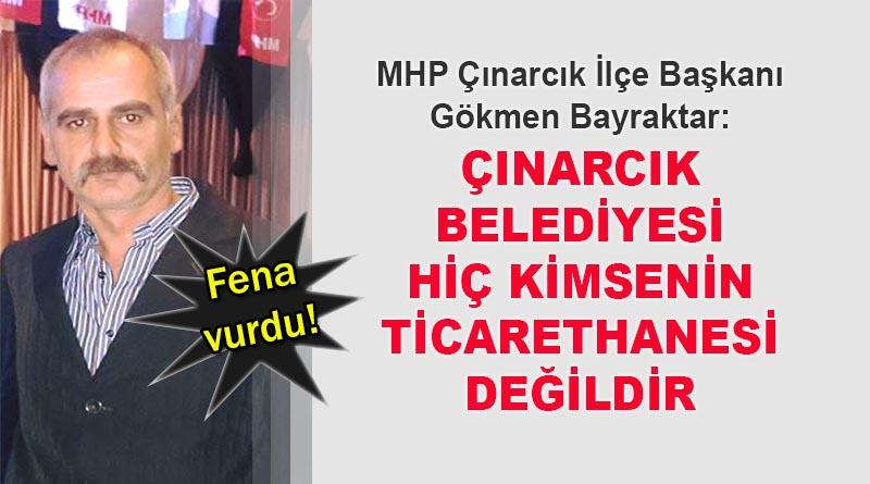 MHP'li Başkandan Avni Kurt'a sert sözler