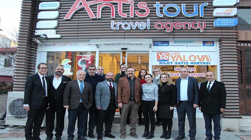 Rıfat Hisarcıklıoğlu'ndan Antis Tour'a ziyaret