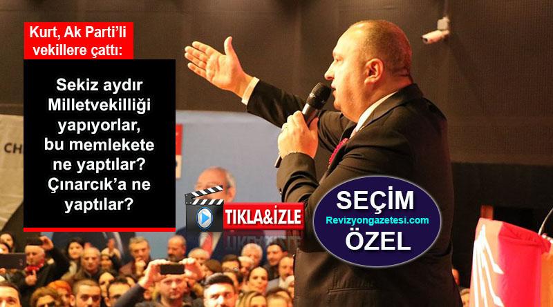 CHP'li Avni Kurt: Ak Parti Milletvekilleri 8 aydır ne yaptılar?
