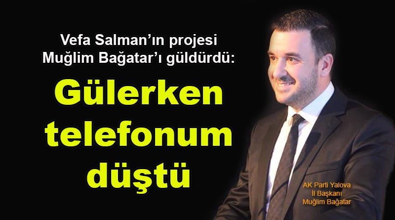 Ak Parti, yeni projesini açıklayan Vefa Salman'ı tiye aldı!