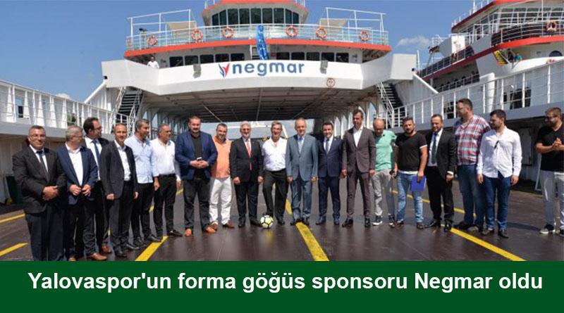 Yalovaspor ile Negmar arasında sponsorluk anlaşması imzalandı