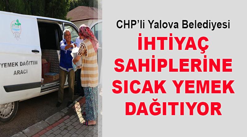 CHP'li Belediye, ihtiyaç sahiplerine sıcak yemek dağıtıyor