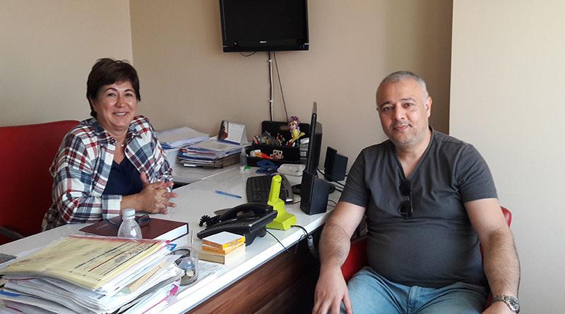 Korkmaz'dan CHP'li Başkan Nur Koçak'a ziyaret