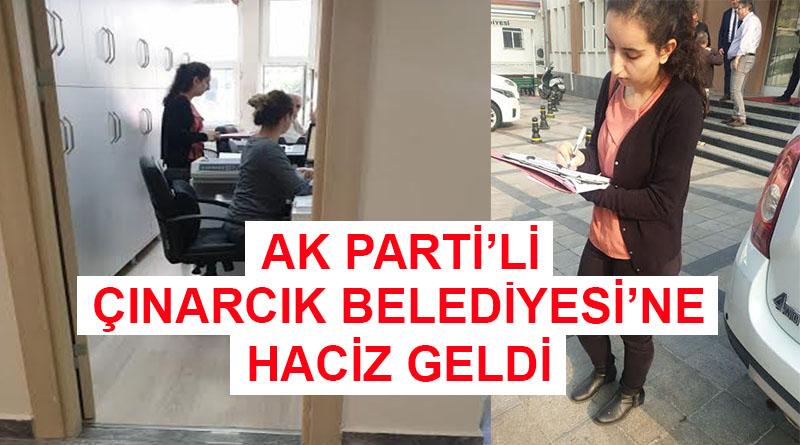 AK PARTİ'Lİ ÇINARCIK BELEDİYESİ'NE HACİZ GELDİ... MAKAM ARACINI KAÇIRDILAR!