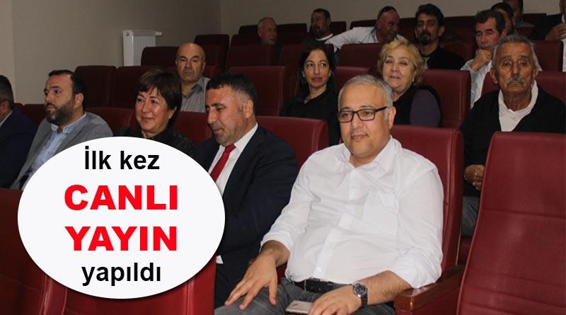 Yalova Belediye Meclis Toplantısı ilk kez canlı yayınlandı