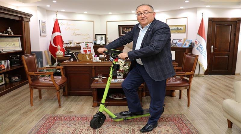 Vefa Salman'ın elektrikli scooter projesi hayata geçiyor!