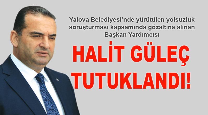 Halit Güleç tutuklandı!