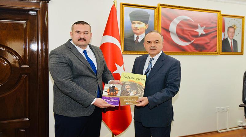 Başkan Bora Tanaçan'dan Yalova Valisi Muammer Erol'a ziyaret