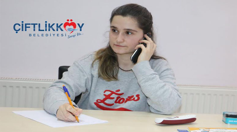 ÇİFTLİKKÖY BELEDİYESİ'NDE TELEFONLA TERAPİ DÖNEMİ BAŞLADI