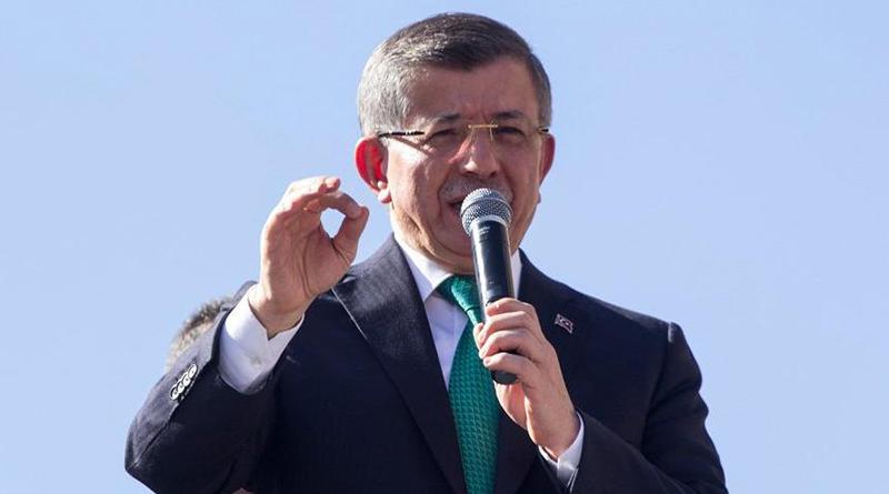 Davutoğlu, Mahir Ünal'a yüklendi: DENSİZLİK!