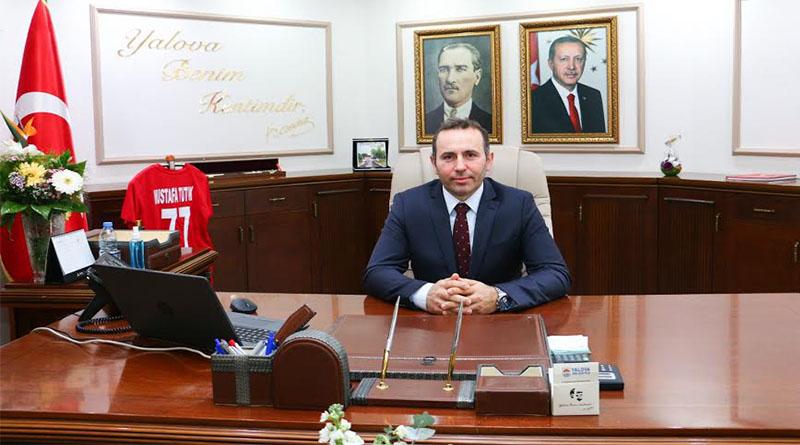 Yalova Belediye Başkan Vekili Mustafa Tutuk'un mesajı