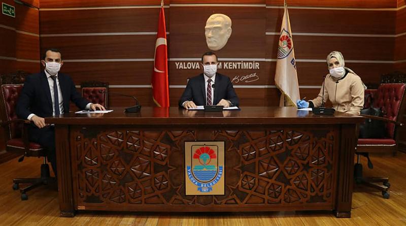 Yalova Belediye Meclisi Nisan Ayı Olağanüstü Toplantısı Yapıldı