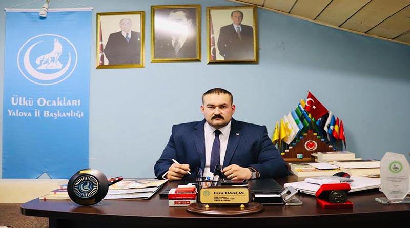 Yalova Ülkü Ocakları Başkanı Bora Tanaçan'ın 3 Mayıs Türkçülük Günü açıklaması