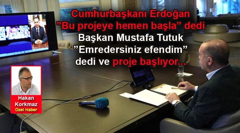 Başkan Mustafa Tutuk, Revizyon Gazetesi'ne konuştu: Bisiklet Yolu Projesi Başlıyor