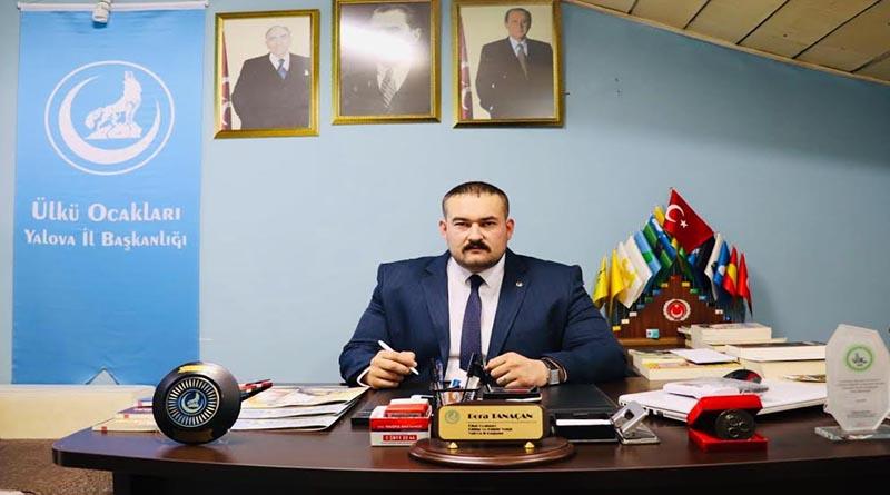 Yalova Ülkü Ocakları Başkanı Bora Tanaçan'dan 19 Mayıs mesajı