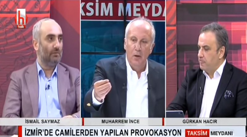 İnce, Erdoğan'a fena yüklendi: Camiler senin tapulu arazin değil!