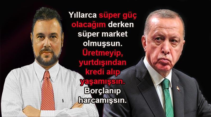 Ekonomist Murat Muratoğlu: Peki bunca borcu bize kim veriyor? Dış mihraklar!