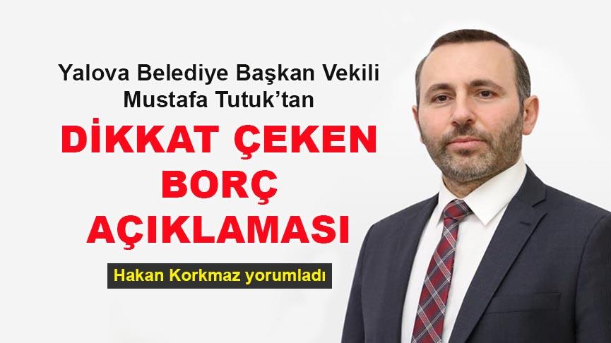 Başkan Mustafa Tutuk: Nisan ayı içerisinde esnafımıza olan borcumuz için 4.869.140,79 TL ödeme gerçekleştirdik