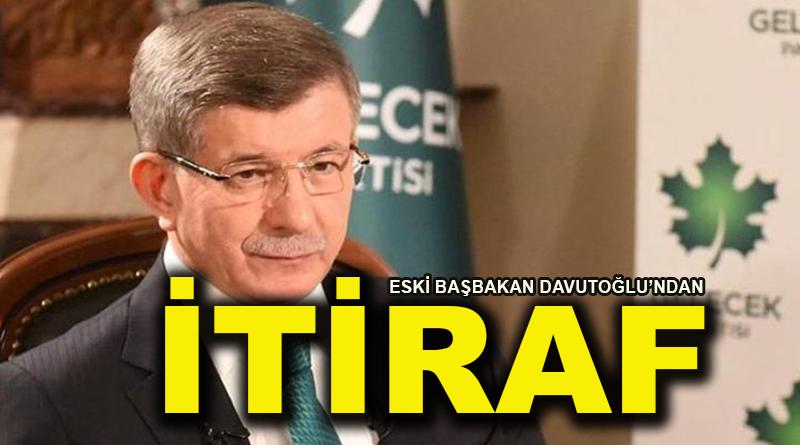 Eski Başbakan Davutoğlu: İhalelerde neler döndüğünü gördüm!