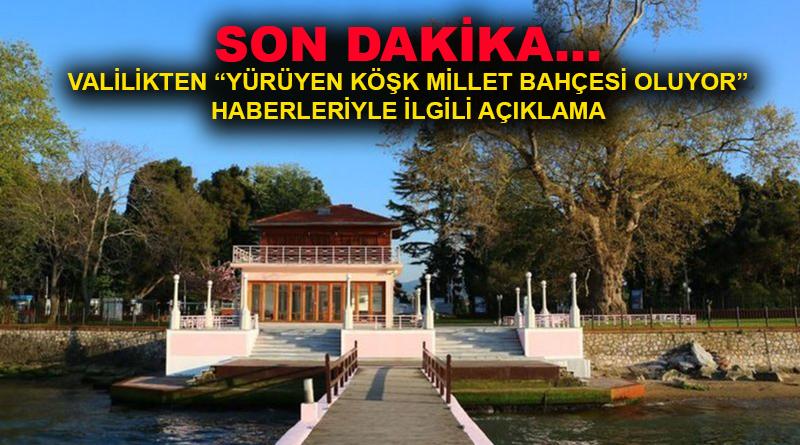 Yalova Valiliği'nden 'Atatürk'ün Mirası Millet Bahçesi Oluyor' haberleriyle ilgili açıklama