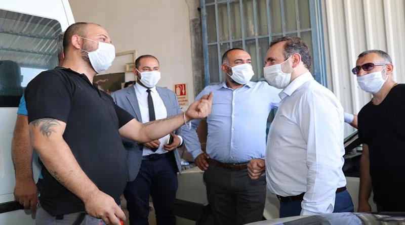 Başkan Mustafa Tutuk: Çözüm için buradayız