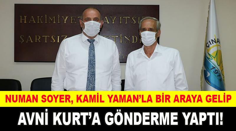 Numan Soyer, Kamil Yaman'la bir araya gelip, Avni Kurt'a gönderme yaptı!