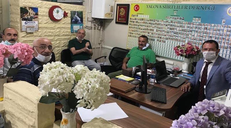 Yalova Siirtliler Derneği Başkanı Vedat Babaoğlu güven tazeledi