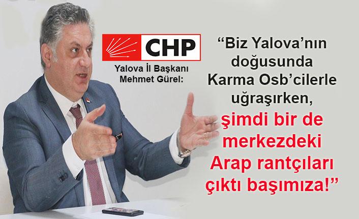 CHP'li Mehmet Gürel: Yalova AKP İl Başkanı bu konuyu biliyor mu?