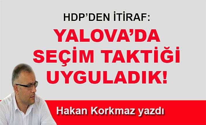 HDP, Yalova'da yerel seçimlerde Vefa Salman'ı desteklemiş!