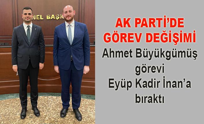 AK Parti'de gençlik kollarının başına Eyüp Kadir İnan geldi