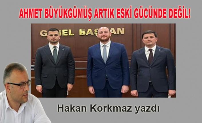 Hakan Korkmaz yazdı... Ahmet Büyükgümüş artık eski gücünde değil!