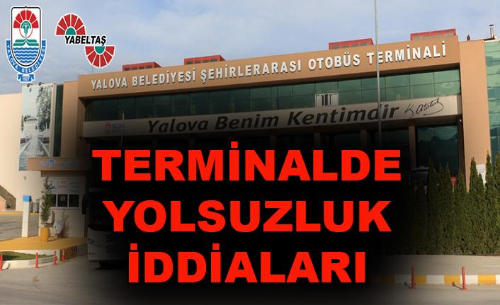 Terminalde yolsuzluk iddiaları
