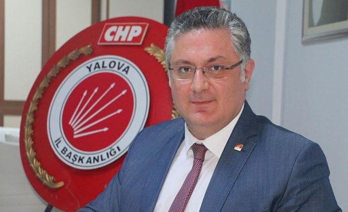 CHP Yalova İl Başkanı Mehmet Gürel, Cumhurbaşkanı Erdoğan'ı eleştirdi!