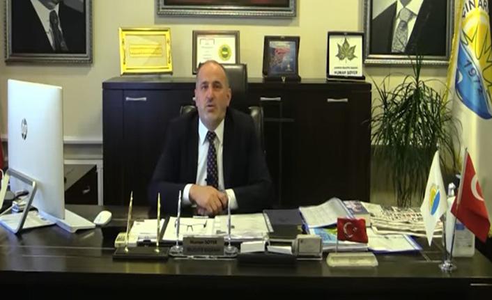Başkan Numan Soyer, belediye çalışanlarına gözdağı verdi!