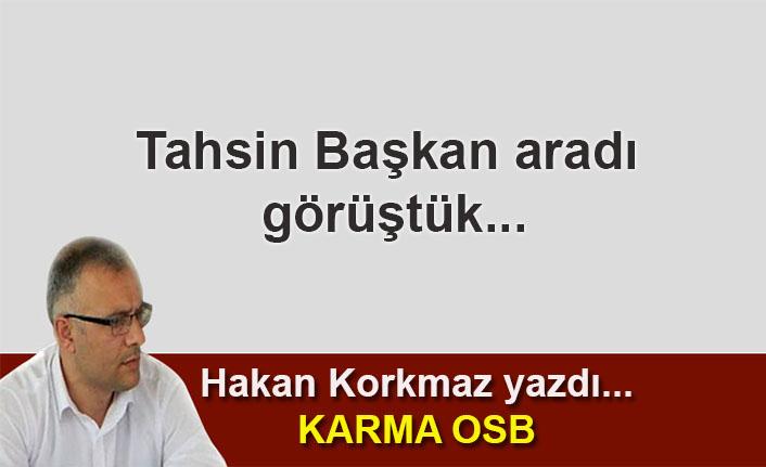 Hakan Korkmaz yazdı... Karma OSB