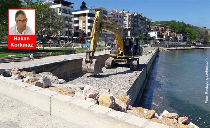 Koru-Çınarcık Sahil Yolu bitti... Koru Belediyesi'nden haberler