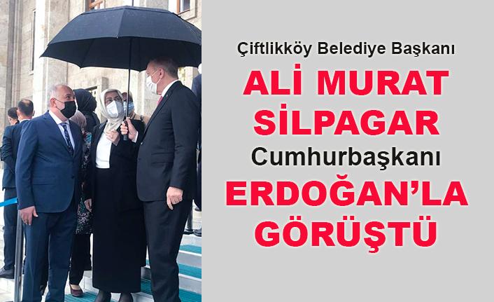 Başkan Ali Murat Silpagar, Cumhurbaşkanı Erdoğan'la görüştü