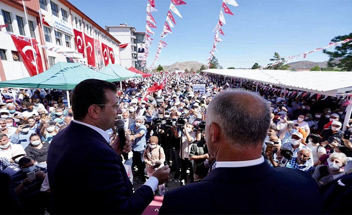 İmamoğlu: İstanbul'da olduğu gibi bütün Türkiye'de de her şey çok güzel olacak