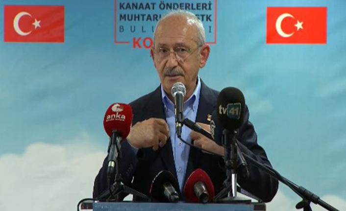 Kılıçdaroğlu: Bizim de eksiğimiz, yanlışımız vardı, bunu düzeltmeye çalışıyoruz
