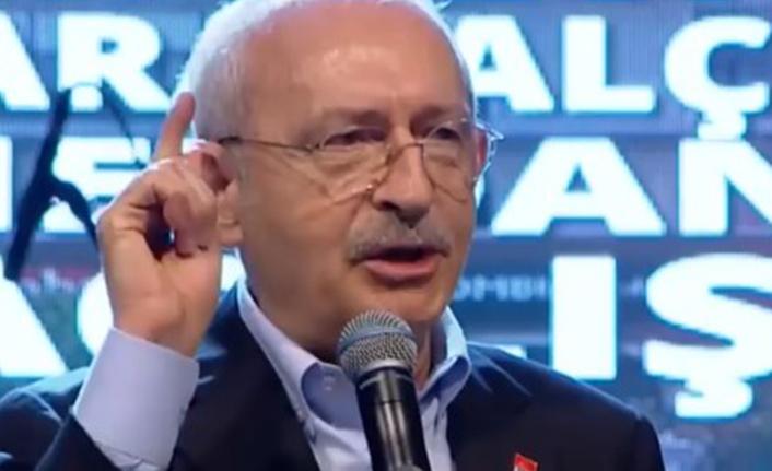 Kılıçdaroğlu'ndan Erdoğan'a: Çekilin oradan, bütün açları doyuralım!