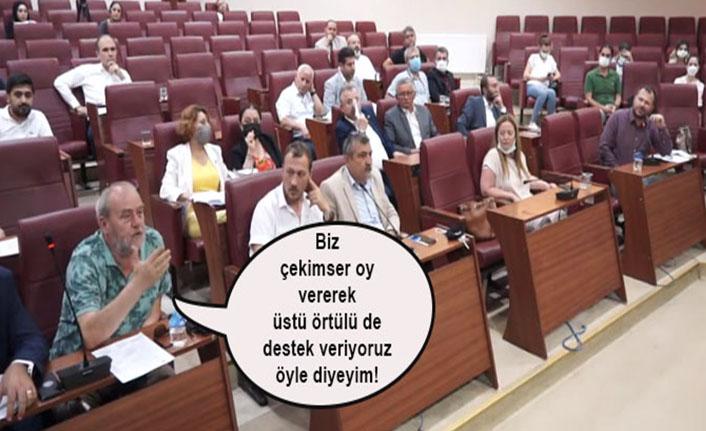 CHP'li Cevdet Bekler: Biz çekimser oy vererek üstü örtülü de destek veriyoruz