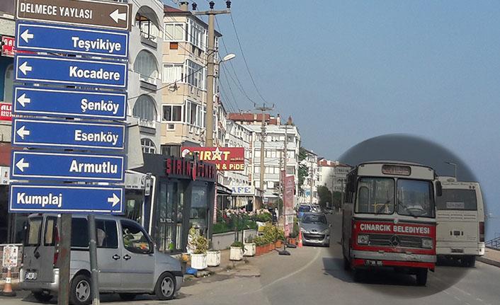 Çınarcık halkı bu külüstür otobüslerden ne zaman kurtulacak?