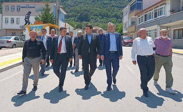 Demokrat Parti Genel Başkanı Gültekin Uysal'dan Taşköprü Belediyesi'ne ziyaret