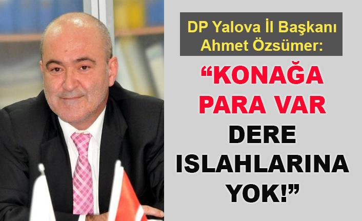 Ahmet Özsümer sordu: Safran ve Koru deresi neden durdu?