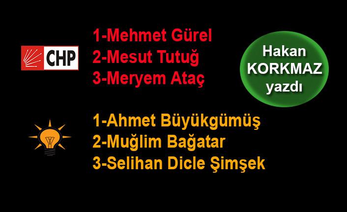 Hakan Korkmaz yazdı... AK Parti ve CHP'nin Yalova Milletvekili adayları