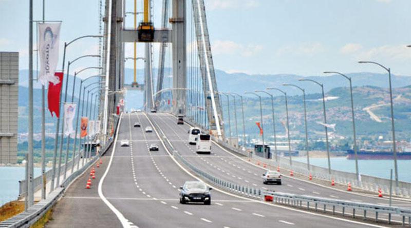 Osmangazi Köprüsü ve Yavuz Sultan Selim Köprüsü geçiş ücretlerine yüzde 14 zam!