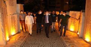 Başkan Mustafa Tutuk: Deprem Anıtının restorasyonunu gerçekleştirdik