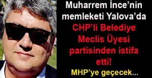 CHP Yalova Belediye Meclis Üyesi Yavuz Bingöl, CHP'den istifa etti!