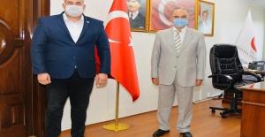 Yalova Ülkü Ocakları Başkanı Bora Tanaçan'dan Vali Muammer Erol'a ziyaret